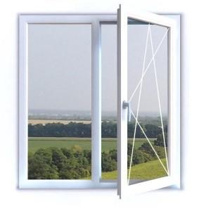 2-х частное окно