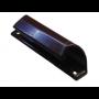 Ручка ракушка балконная алюминиевая коричневая
