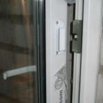 Ручка ракушка балконная алюминиевая на двери