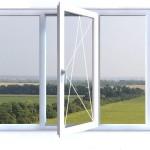 3-х частное окно